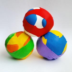 Homemade Juggling Balls
